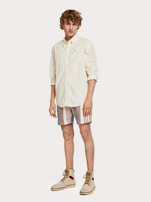Scotch & Soda Raffia Stripe Shorts