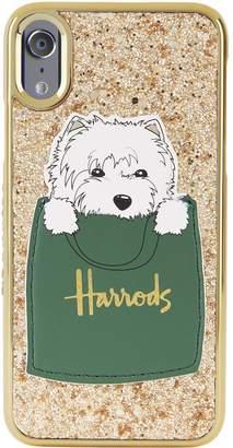 Harrods x Skinnydip Westie Patch iPhone X/XS Case