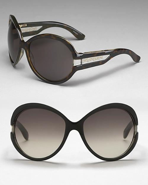 Yves Saint Laurent Women's Oversized Plastic Sunglasses