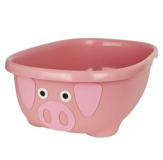 Prince Lionheart TUBIMAL Infant & Toddler Tub with Lid and Bath Hammock PIG