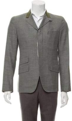 Alexander McQueen Wool & Silk-Blend Sport Coat