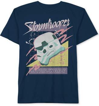 Star Wars Big Boys Retro Storm Trooper Graphic Cotton T-Shirt
