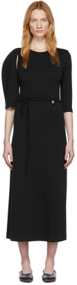 Rudi Gernreich Black Asymmetric Dress