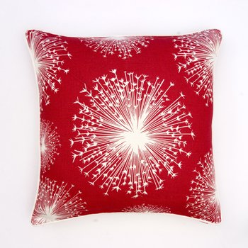 Thomas Paul Seed in Scarlet Linen Pillow