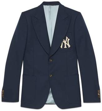 Gucci Men's jacket with NY YankeesTM patch