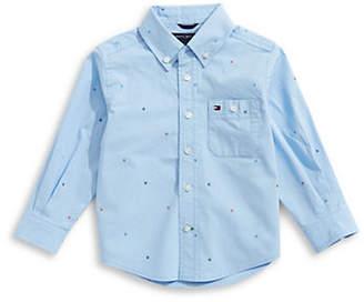 Tommy Hilfiger Stretch Poplin Collared Shirt