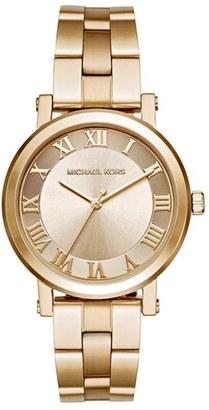 MICHAEL Michael Kors 'Norie' Bracelet Watch, 38mm $225 thestylecure.com
