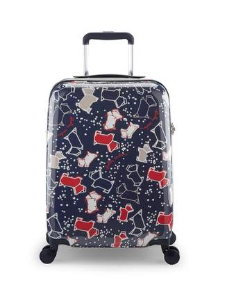 Speckle Dog Small Four Wheel Cabin Case