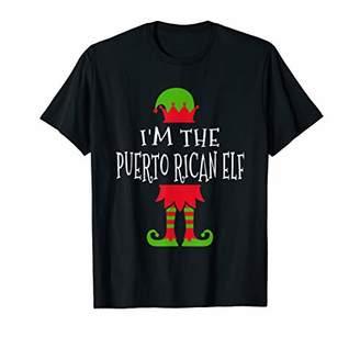 I'm The Puerto Rican Elf Shirt Family Matching Group T-Shirt