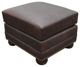 Fantastic Saddle Leather Storage Ottoman Shopstyle Dailytribune Chair Design For Home Dailytribuneorg