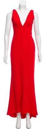 Intermix Cut-Out Evening Gown