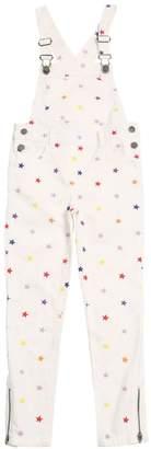 Stella McCartney Star Embroidered Stretch Denim Overalls