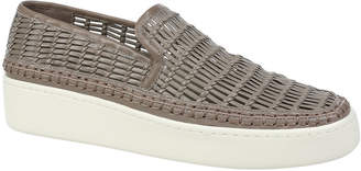 Vince Stafford Woven Leather Sneakers