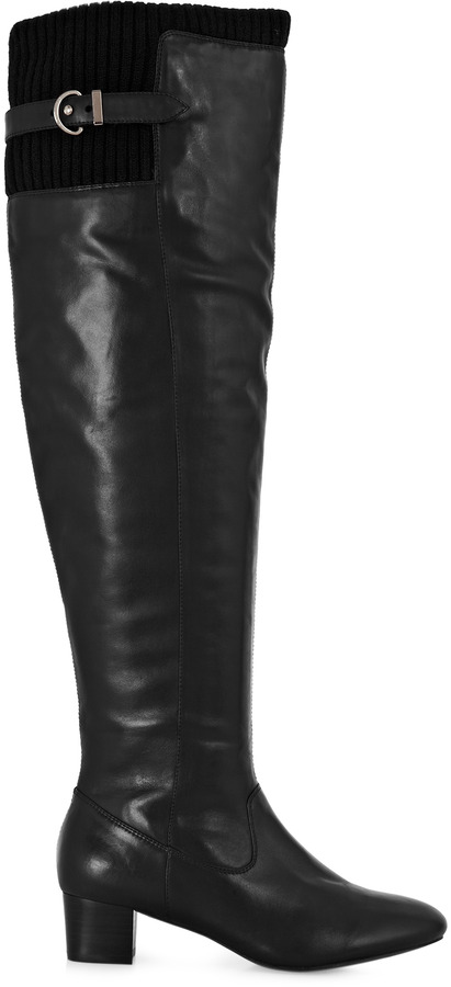 Reiss Sofia OVER THE KNEE BOOTS
