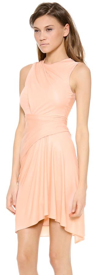 Alexander Wang Sleeveless Draped Dress