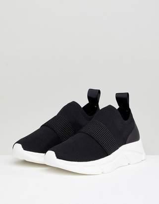 Dune London Ezraa Low Knitted Pull On Sneaker