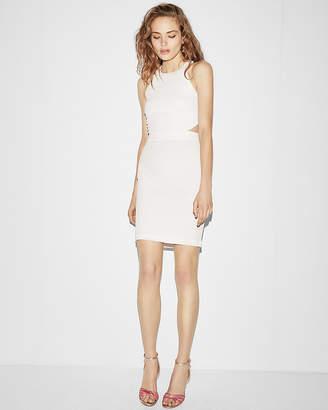 Express Cut-Out Back Mini Sheath Dress