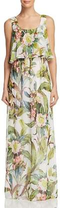 Adrianna Papell Tropical Maxi Dress