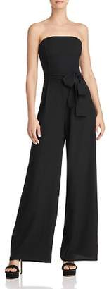 Lucy Paris Natalie Strapless Wide-Leg Jumpsuit