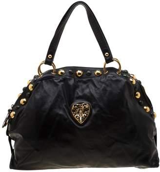 Gucci Hysteria Black Leather Handbags
