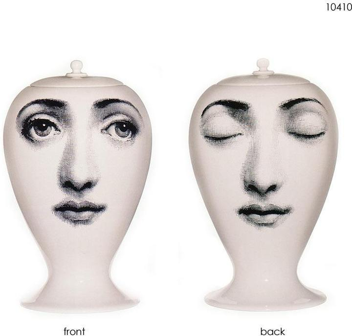 Bitossi - miniature jar collection by piero fornasetti for bitossi of italy