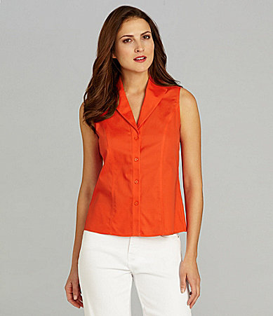 Jones New York Collection Easy-Care Sleeveless Blouse