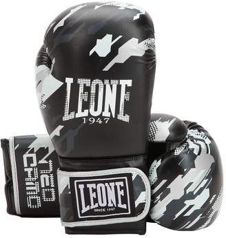 10 Oz Neo Camo Faux Leather Boxing Glove