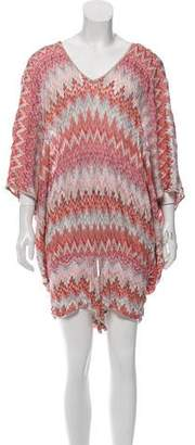 Missoni Patterned Cover-Up Dress
