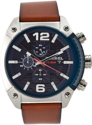 Diesel DZ4400 Cognac & Blue Watch
