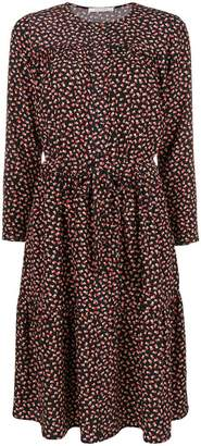 Parker Chinti & mini hear print shirt dress
