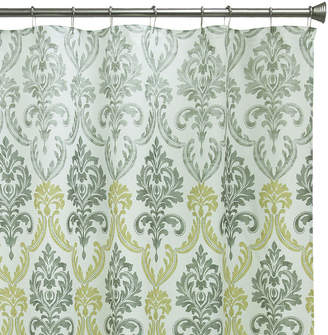 Bacova Guild Portico Damask Shower Curtain