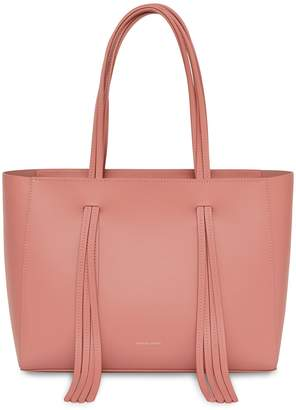 Mansur Gavriel Calf Fringe Bag - Blush