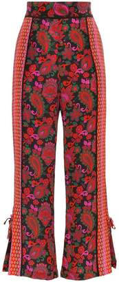 A Peace Treaty multi-print trousers