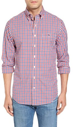 Men's Vineyard Vines Beach Dune - Tucker Slim Fit Gingham Sport Shirt $98.50 thestylecure.com