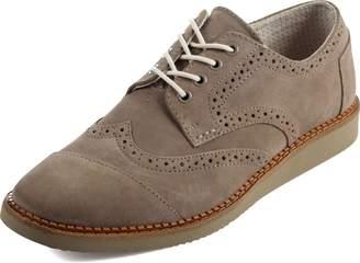 Toms Men's Brogue Casual Shoes Suede Leather MSRP $119 SZ 9.5