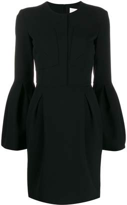 Genny bell sleeved dress