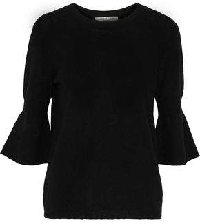 Halston Merino Wool And Cashmere-Blend Sweater