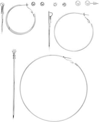 Mudd Set of 6 Hoop & Stud Earring Set