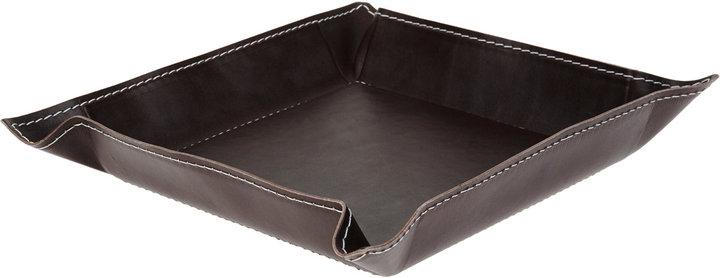 Arte & Cuoio Square Leather Tray