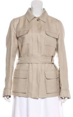 Loro Piana Long Sleeve Button-Up Jacket