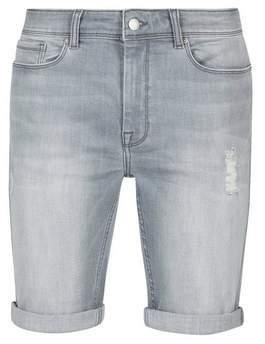 32fc5805c9 Men Light Denim Shorts - ShopStyle UK