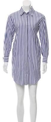 Alexander Wang Striped Shirt Dress