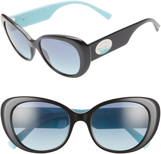 Tiffany & Co. & Co. Return to 54mm Oval Sunglasses