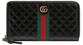 Gucci Trapuntata Zip-Around Wallet