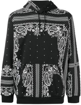 adidas paisley print hoodie