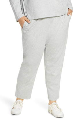 Eileen Fisher Tapered Melange Ankle Pants
