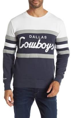 Mitchell & Ness Dallas Cowboys Head Coach Crew Neck Sweater