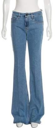 Victoria Beckham Victoria Mid-Rise Wide-Leg Jeans