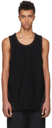 Y-3 Black James Harden Satin Tank Top