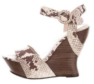 Alice + Olivia Embossed Platform Sandals